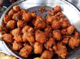 Pakora (Gram flour fritters)